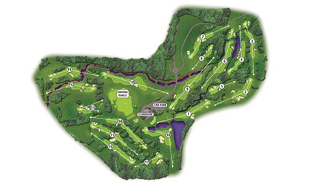 Гольф-поле Pine Creek Golf Resort