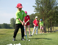 Children's golf school